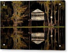 Caddo Lake Boathouse Acrylic Print