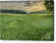 Cades Cove Acrylic Print by Patrick Shupert