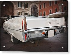Cadillac Coupe De Ville Acrylic Print by Carol Japp