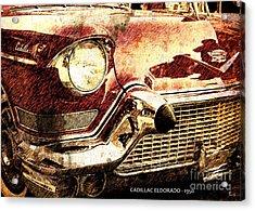 Cadillac Eldorado 1950 Acrylic Print by Pablo Franchi