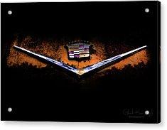 Cadillac Emblem Acrylic Print