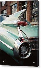 Cadillac Fins Acrylic Print