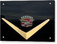 Cadillac Hood Emblem Acrylic Print