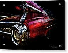 Cadillac Lines Acrylic Print
