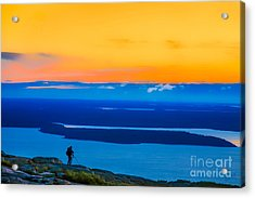 Cadillac Mountain Sunrise Scene 3538 Option 2 Acrylic Print