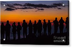 Cadillac Mountain Sunset.  Acrylic Print