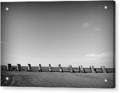 Cadillac Ranch 4 Acrylic Print by John Gusky