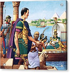 Caesar And Cleopatra Acrylic Print by Pat Nicolle