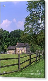 1e140 Caesar Creek Pioneer Village Photo Acrylic Print