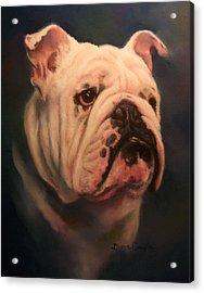 Caesar Acrylic Print by Diane Caudle