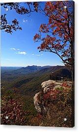 Caesars Head State Park In Upstate South Carolina Acrylic Print
