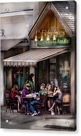 Cafe - Westfield Nj - Gabi's Sushi And Noodles Acrylic Print by Mike Savad