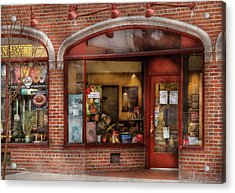 Cafe - Westfield Nj - Tutti Baci Cafe Acrylic Print by Mike Savad