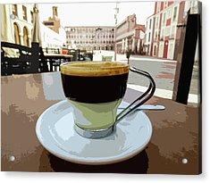 Cafe Bombon Acrylic Print