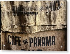 Cafe De Panama Acrylic Print