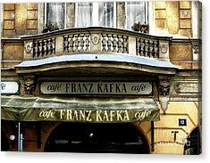 Cafe Franz Kafka Acrylic Print