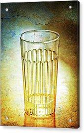 Cafe Glass Acrylic Print