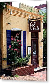 Acrylic Print featuring the photograph Cafe Laruche by Adrian LaRoque
