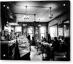 Cafe Light Acrylic Print by JMerrickMedia