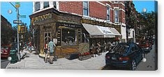 Cafe Moutarde Acrylic Print by Ted Papoulas