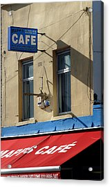 Cafe Old Ford Acrylic Print by Jez C Self