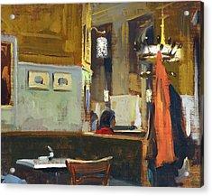 Cafe Westend Acrylic Print