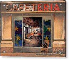 Cafeteria Acrylic Print