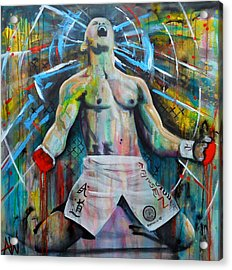 Cage Fighter Acrylic Print