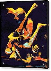 Cage Fighters Acrylic Print by Deborah Lee