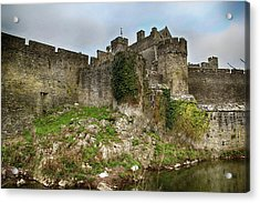 Acrylic Print featuring the photograph Cahir Castle by Marie Leslie