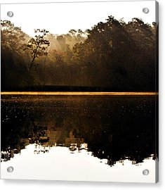 Acrylic Print featuring the photograph Cahooque Creek Sunrise by Bob Decker
