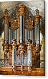 Cahors Cathedral Organ Acrylic Print