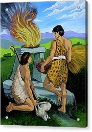 Cain And Abel Acrylic Print by Karon Melillo DeVega