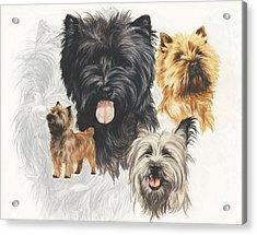 Cairn Terrier Revamp Acrylic Print