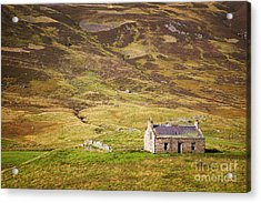 Cairngorms Cottage Acrylic Print