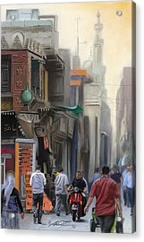 Cairo Street Market Acrylic Print
