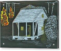 Cajun Bonfires Acrylic Print by Fran Hoffpauir