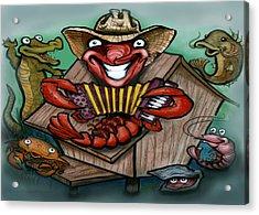 Cajun Critters Acrylic Print