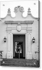 Cal State University Channel Islands Doorway Acrylic Print by University Icons