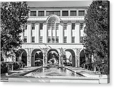 Cal Tech Beckman Institute Acrylic Print by University Icons