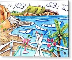 Cala Plomo Costa Del Sol - Parque Natural Cabo De Gata Almeria Acrylic Print by Arte Venezia