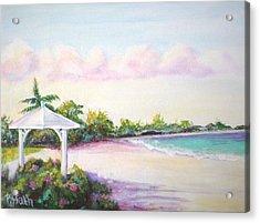 Calabash Bay Acrylic Print by Patricia Piffath