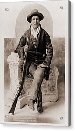 Calamity Jane 1852-1903, Was A Scout Acrylic Print by Everett