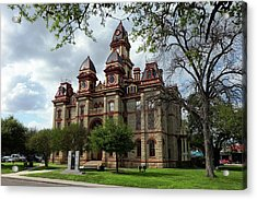 Caldwell County Courthouse Acrylic Print
