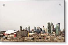 Acrylic Print featuring the photograph Calgary, Alberta by Josef Pittner