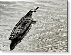 Calgary Dragon Boat Acrylic Print