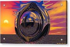 Calgary Expansion Acrylic Print by Wayne Bonney