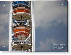 Acrylic Print featuring the photograph Calgary Stampede Ferris Wheel by Wilko Van de Kamp