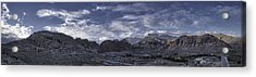 Acrylic Print featuring the photograph Calico Basin Panorama by Ryan Smith