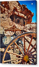 Calico Ghost Town Mine Acrylic Print